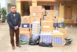 Bắt vụ tàng trữ gần 20.000 bao thuốc lá lậu