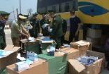 Bắt lượng lớn khẩu trang, đồ bảo hộ xuất lậu sang Lào