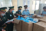 Bắt giữ vụ buôn lậu hàng trăm ngàn khẩu trang y tế qua biên giới tại Đồng Tháp