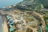 Xây công trình không phép ở đảo Hòn Tằm chủ đầu tư bị phạt hàng chục triệu