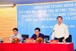 Hà Nội: Đưa khu Công nghệ cao thành tâm điểm cho sự phát triển đô thị Hòa Lạc