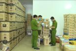 Phát hiện số lượng lớn sữa Hàn Quốc nghi nhập lậu
