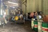 TP Biên Hòa kiểm tra xưởng tái chế mỡ bò, bị đình chỉ vẫn lén lút sản xuất