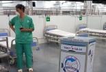 Ứng dụng robot tại bệnh viện dã chiến số 14 tại Tp. Hồ Chí Minh
