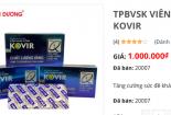 Viên uống Kovir của Sao Thái Dương: Dấu hiệu 'té nước theo mưa', tăng giá bất thường