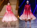 Phạm Hương bị nghi diện váy nhái của nhà mốt nổi tiếng thế giới