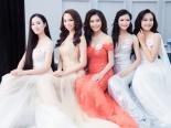 Dàn thí sinh Hoa hậu Việt Nam 2016 lộng lẫy với đầm dạ hội