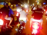 Gần 400 quái xế đại náo quốc lộ 1A ngày Quốc khánh 2/9