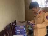 Thanh Hóa: Bắt xe khách vận chuyển 950 bao thuốc lá lậu