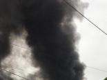 Cháy lớn tại cơ sở sản xuất bia, cột khói cao hàng chục mét