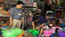 Tiêu hủy nhiều đồ chơi bạo lực và độc hại trên thị trường