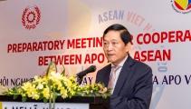 Thúc đẩy hợp tác giữa APO và ASEAN vì mục tiêu tăng năng suất và phát triển nền kinh tế khu vực