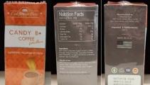 Cảnh báo: Sản phẩm Candy B+ Coffee Extra Power chứa chất không được cấp phép tại Việt Nam