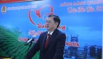 Bộ trưởng Bộ Khoa học và Công nghệ Huỳnh Thành Đạt làm việc tại tỉnh Thái Nguyên