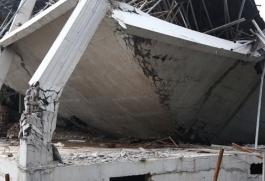 Trường mầm non đang thi công đổ sập trong đêm