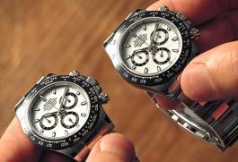Ma trận đồng hồ thật - giả bày bán trên mạng