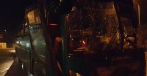 Clip: Hiện trường vụ nổ xe khách giường nằm ở Bắc Ninh
