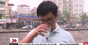 Kỳ lạ nước sông Tô Lịch có thể uống được, ngọt và mát như nước lọc