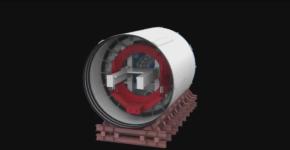 Máy khoan hầm 300 tấn đào hầm tuyến metro đầu tiên của TP.HCM thế nào?