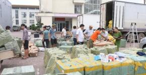 Bắt giữ lô hàng gắn mác Hàn Quốc trị giá hàng chục tỷ đồng