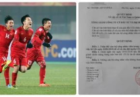 Nhiều nơi cho học sinh nghỉ học, nhân viên nghỉ làm để cổ vũ U23 Việt Nam