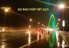 Dự báo thời tiết hôm nay 22/5: Hà Nội ngày nắng nóng, chiều và tối có mưa rào