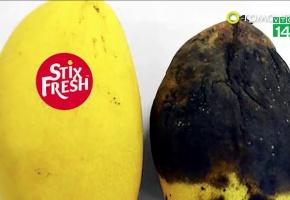 Nhãn dán đặc biệt giúp hoa quả tươi lâu hơn 10 ngày