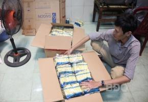 Bình Định: sang chiết đường trái phép bị phạt 75 triệu đồng