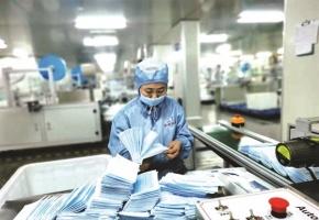 Sản xuất thành công khẩu trang vải không may