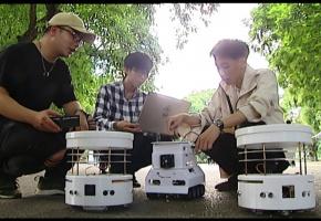 Nhóm nam sinh sáng chế robot cứu nạn