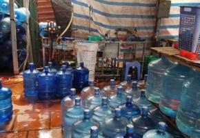 Hiểm họa từ nước đóng bình kém chất lượng
