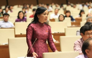 Với 93,52% số phiếu bầu, bà Nguyễn Thị Kim Tiến tiếp tục làm Bộ trưởng Bộ Y tế