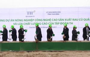 Hơn 3.000 tỷ đồng đầu tư dự án nông nghiệp công nghệ cao tại Thái Bình