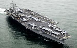 Tàu sân bay thứ 3 của Mỹ 'áp sát' Triều Tiên có sức mạnh như nào?