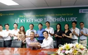 Thế giới di động chính thức bán trái cây cho Hoàng Anh Gia Lai