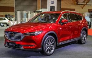Mazda CX-8 lắp ráp trong nước chuẩn bị ra mắt được trang bị những gì?