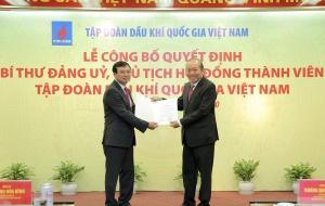 Chính thức bổ nhiệm ông Hoàng Quốc Vượng làm Chủ tịch HĐTV Tập đoàn Dầu khí Việt Nam
