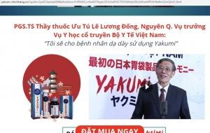 Sản phẩm YAKUMI: Vẫn sản xuất, bán hàng - như chưa hề bị 'tuýt còi'