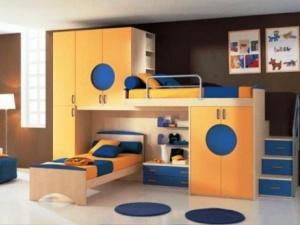 Giường tầng – Không gian mới mẻ cho bé bắt đầu ngủ riêng
