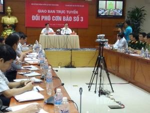 Bão số 3 tiến thẳng vào Quảng Ninh-Hải Phòng: Dừng các cuộc họp để đối phó!