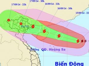 Tin bão số 3 ngày 16/9: Tốc độ và hướng di chuyển mới nhất