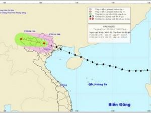 Tin mới nhất về bão số 3: Đường đi của bão chuyển hướng