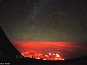 Xuất hiện vầng sáng đỏ bí ẩn ở Thái Bình Dương