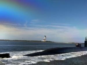 Cận cảnh tàu ngầm có sức mạnh đáng sợ nhất của Mỹ ở Biển Đông