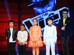 Giọng hát Việt nhí 2014: Hoàng Anh đối đầu với Huyền Trân giành vé vào chung kết