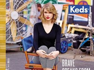 Taylor Swift tiếp tục trở thành người mẫu đại diện cho bộ sưu tập giày Keds mới