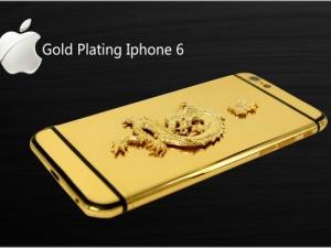 Cận cảnh các siêu phẩm điện thoại di động độ vàng 24k