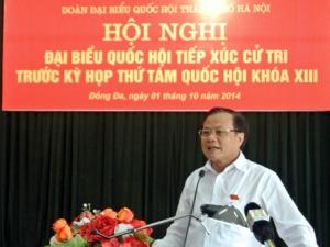 Bí thư Hà Nội lý giải chuyện 'bẻ cong' đường Trường Chinh