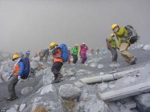 Số người chết trong vụ núi lửa Ontake phun ở Nhật Bản tăng cao khác thường