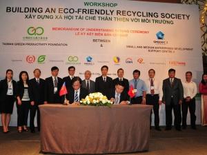 Việt Nam là nước đầu tiên tổ chức sự kiện về  năng suất xanh